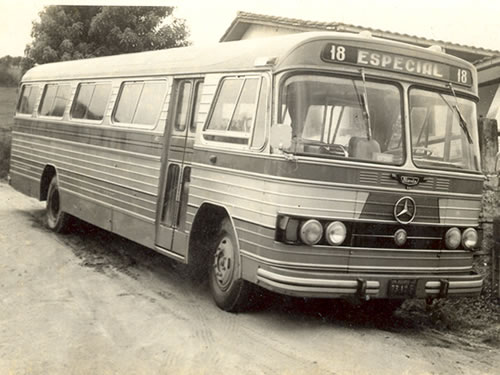 1962 - Mercedes bens - Carroceria Nicola