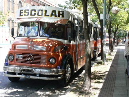 1962 Mercedes Benz Schoolbus Argentinië