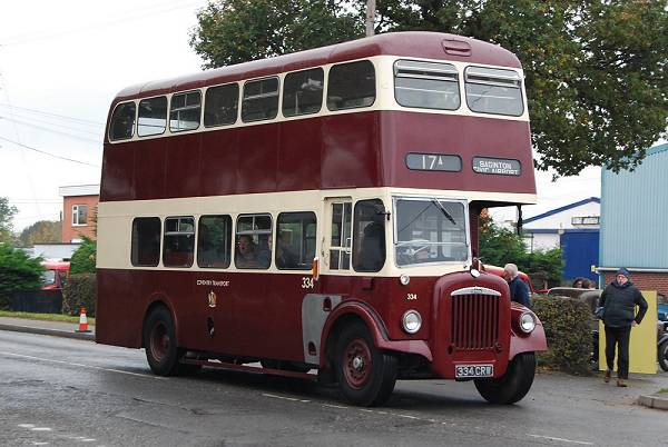 1963 Daimler CVG6 with Metro Cammell body