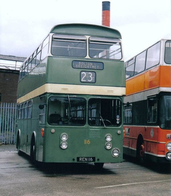 1963 Leyland Atlantean PDR1-1 with MCW 74 seat boywork
