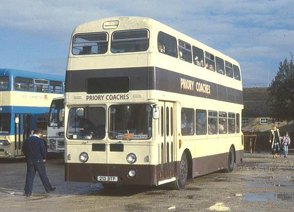 1963 Leyland Atlantean PDR1-1 with Metro-Cammell H43-33F bodywork