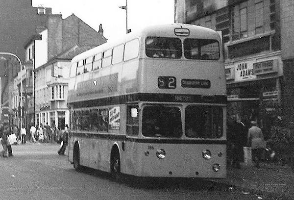 1963 Leyland Atlanteans with MCW bodywork