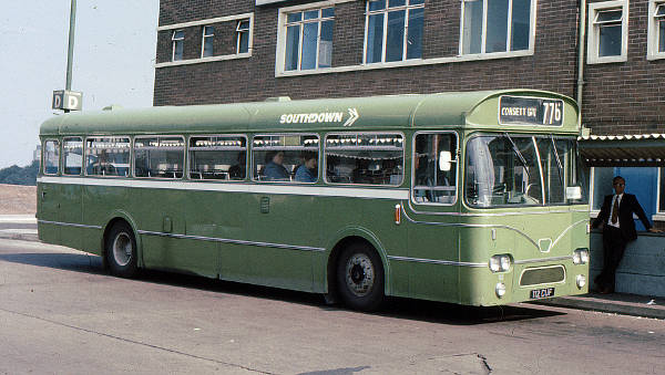1963 Leyland Leopard PSU3-1 with Marshall B45F bodywork
