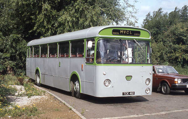 1963 Leyland Leopard PSU3-1R built with Marshall B53F bodywork