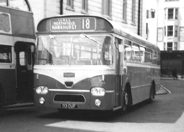 1963 Leyland Leopard PSU3-1R with Marshall bodywork