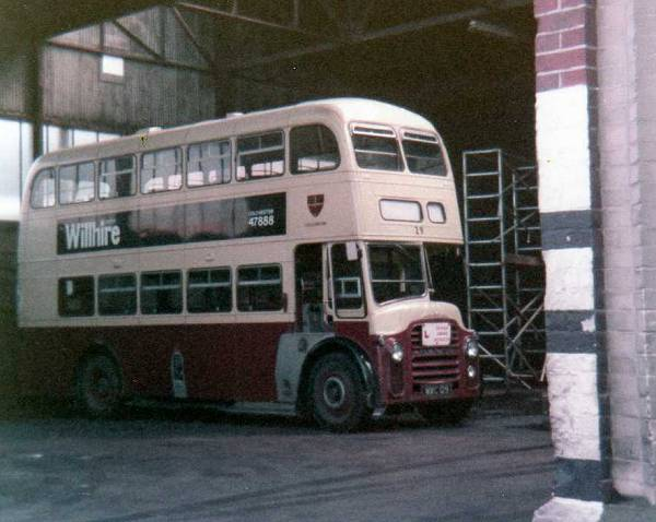 1963 Leyland PD2A-31 with Massey H33-28R body
