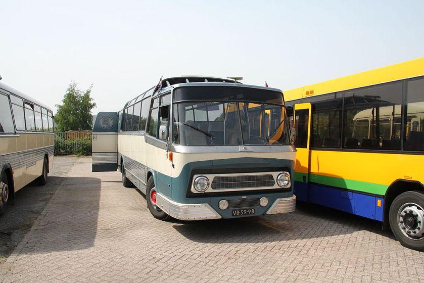 1963 Leyland-Roset VIP-bus 251 Jules Verne Museumbus Jules Verne Maarse en Kroon 251