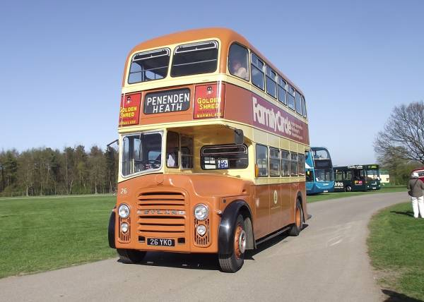 1963 Leyland Titan PD2A-30 with Massey H33-28R seat body