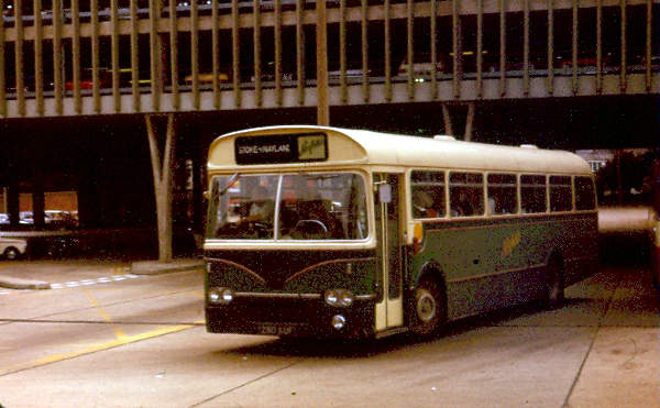 1963 Marshall bodied Leyland Leopard ex East Kent but new to Southdown as their 680 in March