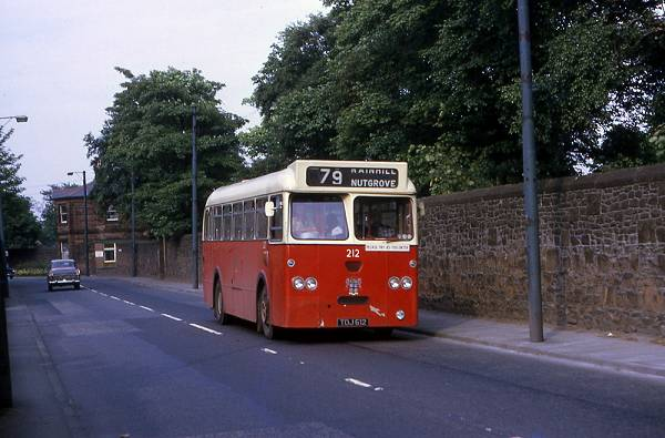 1963 St Helens Corporation Transport Marshall bodied AEC Reliance 212