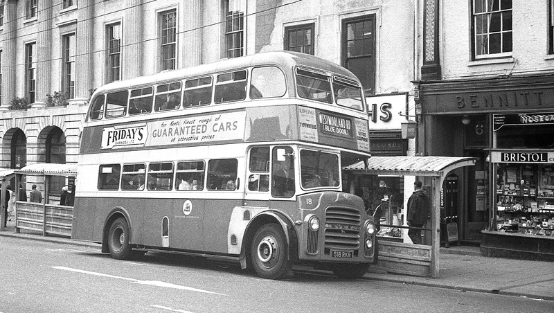 1963 was a Leyland PD3 with Massey bodywork