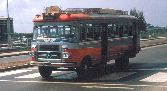 1964-65 Mercedes Benz Bus Thailand
