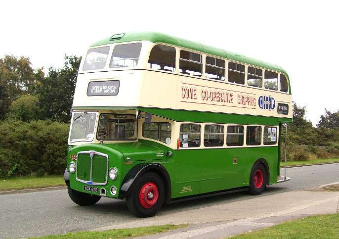 1964 AEC Regent V with a Massey body