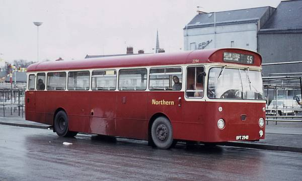 1964 AEC Reliance 2U3RA with Marshall B53F bodywork