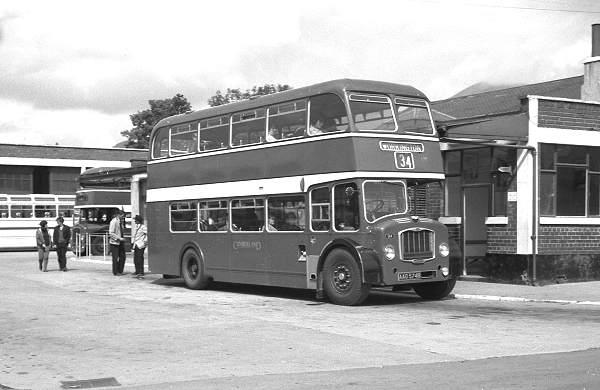 1964 Cumberland 564, AAO574B, a Bristol FS6B with ECW H60R body