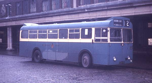 1964 Leyland Leopard L1 with Massey B42D bodywork