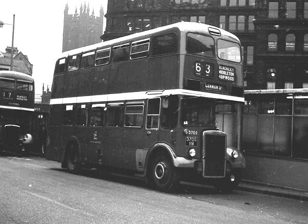 1964 Leyland PD2-37 with a Metro Cammell H37-28R body