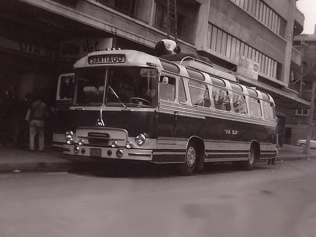 1964 Magirus Deutz Buses Via Sur Concep Saturn II
