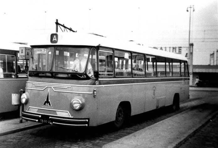 1964 Magirus Deutz De City 91