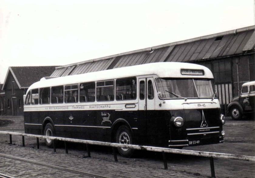 1964 Magirus Deutz no43 RTM Reebok