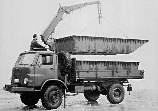 1964 MAN 415НА, 4x4