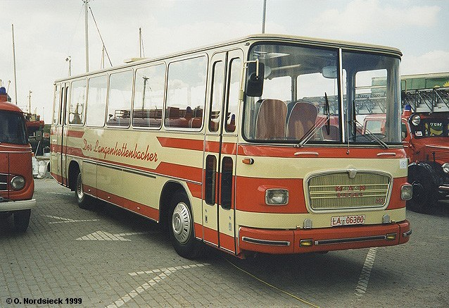 1964 MAN 535 HO Reisebus