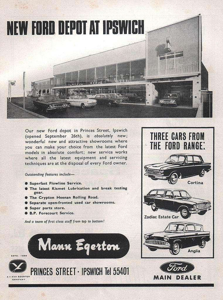 1964 Mann Egerton Ford