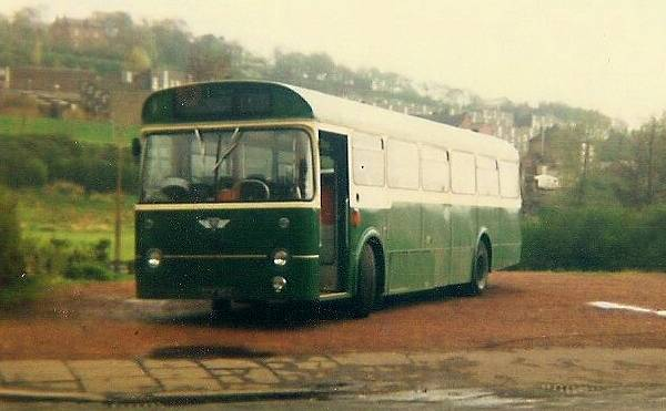 1964 Marshall bodied AEC Reliance that had been new to Hebble