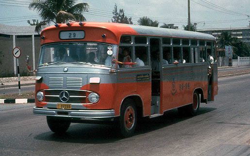 1964 Mercedes Benz Thai Bus Bangkok