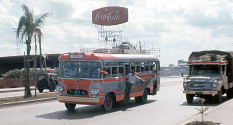1964 Mercedes benz Thai Bus