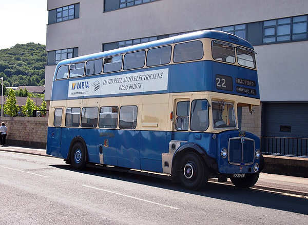 1964 Metro-Cammell H40-30F bodied AEC Regent V 2D3RA
