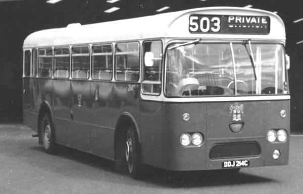 1965 AEC Reliance 2MU3RA with Marshall B45F body