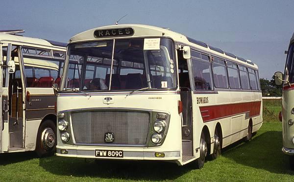 1965 Bedford VAL14 with MCW Topaz II C52F bodywork