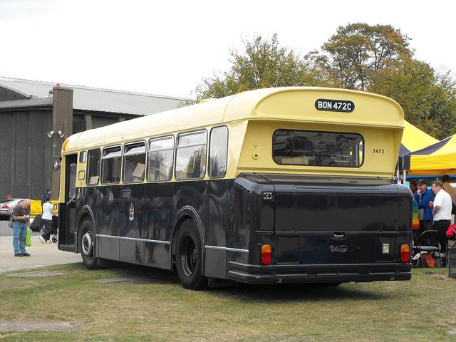 1965 Daimler Fleetline Marshall back