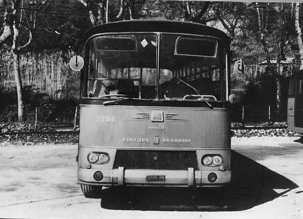 1965 Fiat 306-3 Menarini Monocar 1041-2 stefer b 2504