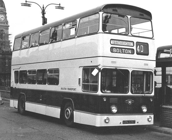 1965 Leyland Atlantean PDR1-1 with Metro-Cammell H45-32F body
