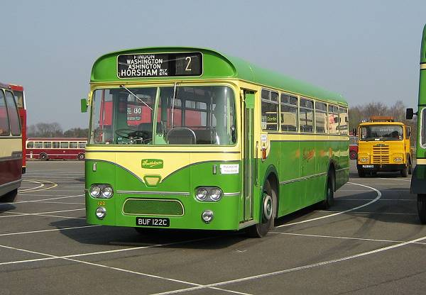 1965 Leyland Leopard PSU3-1RT fitted with a Marshall 'Federation' B45F body a