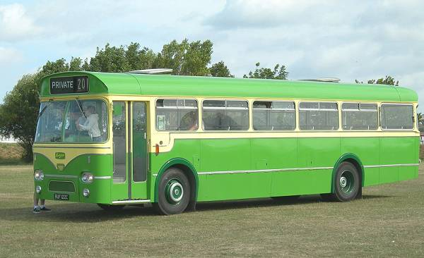 1965 Leyland Leopard PSU3-1RT fitted with a Marshall 'Federation' B45F body