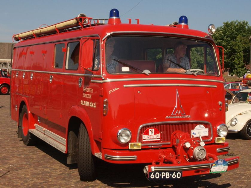 1965 Magirus-Deutz Mercur 126 FL, Dutch licence registration 60-PB-60