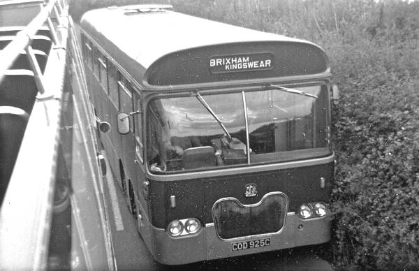 1965 Marshall-bodied Bedford VAL, COD925C