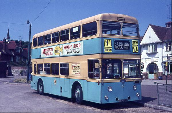 1965 Massey H43-31F bodied Leyland PDR1-1