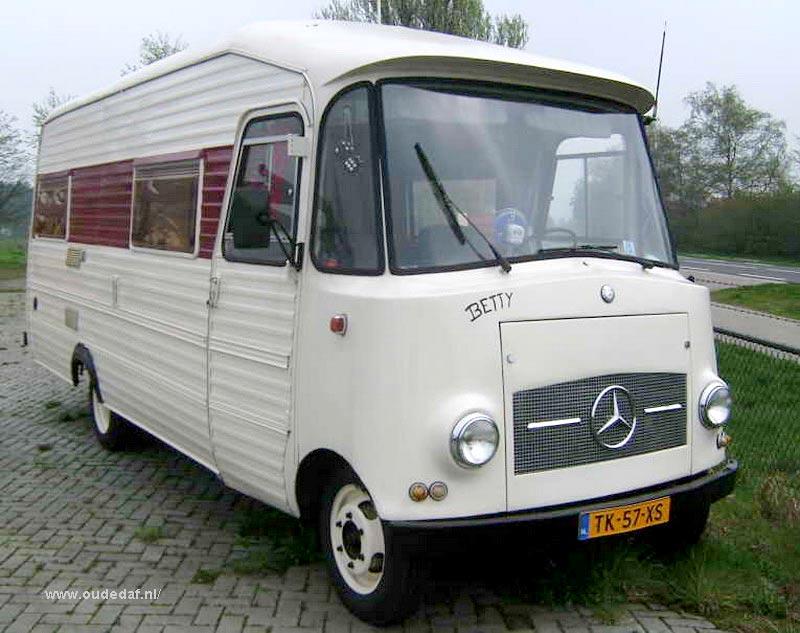 1965 Mercedes Benz Oldtimer Motorhome