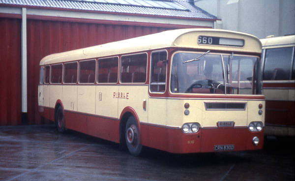 1966 Leyland Leopard PSU3-4R with Marshall DP49F bodywork
