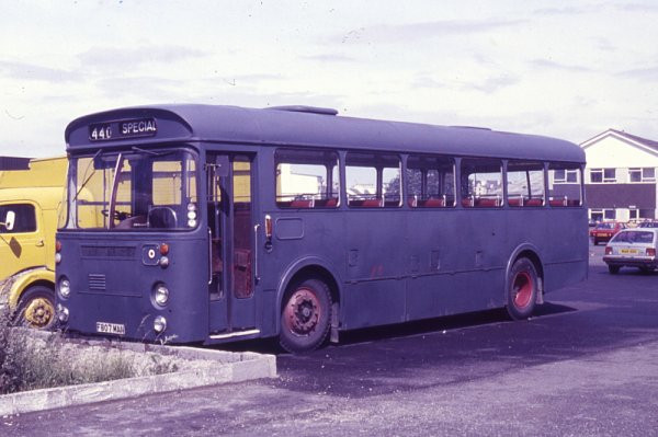 1966 Leyland Leopard PSU4-4R built in 1966 with Marshall B44F bodywork