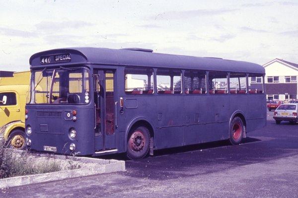 1966 Leyland Leopard PSU4-4R built in 1966 with Marshall B44F bodywork