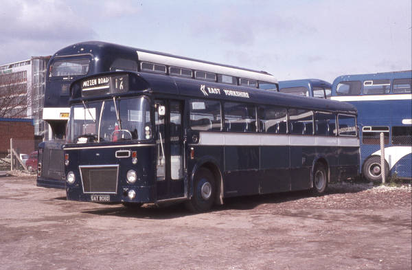 1966 Leyland Panther PSUR1-2R with Marshall B49F bodywork