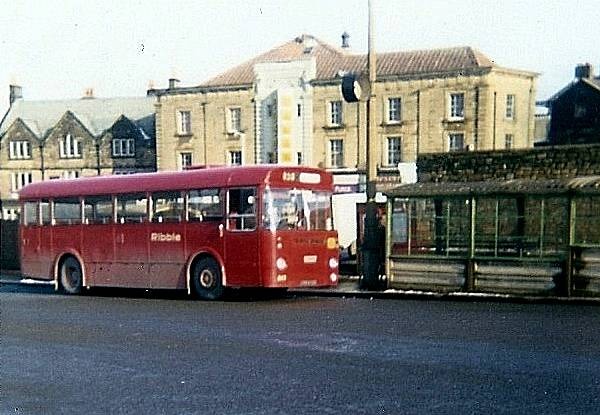 1966 Ribble bought a number of 30 foot Leyland Leopards with Marshall bodywork