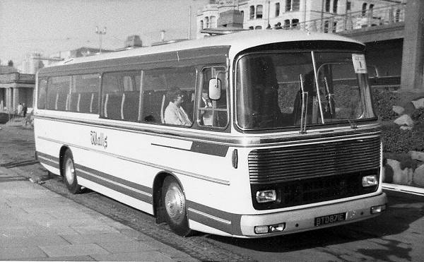 1967 Bedford VAM with a rare MCW Metropolitan coach body