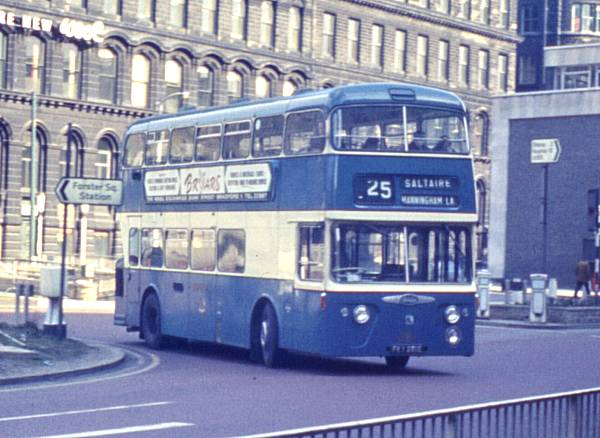 1967 Daimler Fleetline CRG6LX with MCW H43-31F bodywork