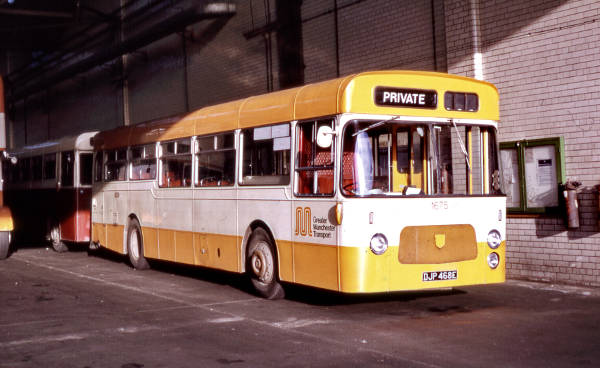 1967 Leyland Panther Cub PSRC1-1 with Massey B43D bodywork